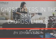 ghost riders in the sky chords