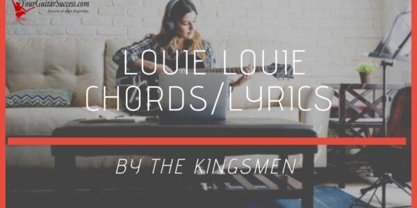 louie louie chords