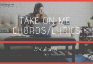 take on me chords